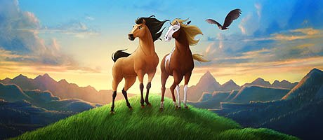 Spirit: Stallion of the Cimarron is proof that design by committee can result in a thoroughbred -- not a camel. All Spirit: Stallion of the Cimarron images are  & © 2002 DreamWorks LLC.