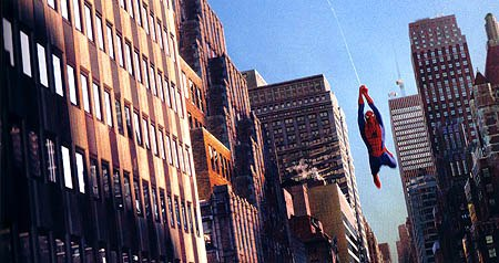 Sony Pictures Imageworks rose to the dual challenge of creating a swinging Spider-Man travelling through a virtual New York. All images unless otherwise noted are © 2002 Columbia Pictures Industries, Inc. All rights reserved.