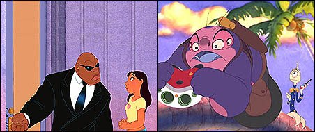 Cobra Bubbles and Jumba and Pleakley are just three supporting characters worth admission.