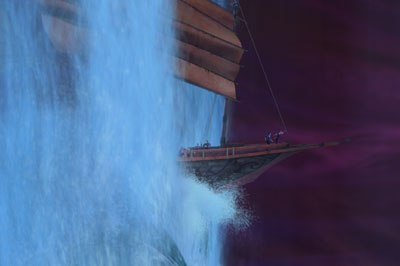 Sinbad sails on a long journey for DreamWorks in developing the right CG water. Sinbad: TM & © 2003 DreamWorks LLC.