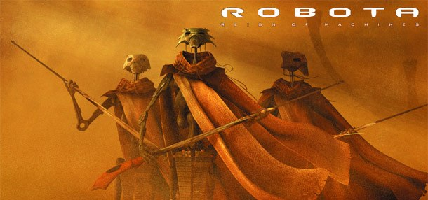 Robota, started as a personal project for Doug Chiang, has grown into its own entity. All Robota images ©2002 Doug Chiang StudioCGI by Sparx*