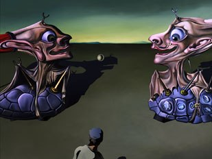 The art of Dali is ever present throughout Destino. All images © Walt Disney Pictures.