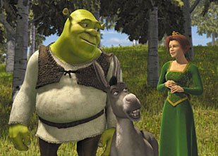 Making a big movie such as Shrek requires astute management of hundreds of artists and their work on millions of digital assets. © DreamWorks/PDI.