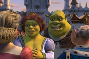 Shrek 2 hopes to fracture the fairy tale just like its predecessor. Photo courtesy of DreamWorks Pictures TM & © 2003 DreamWorks LLC.