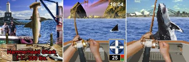Wireless gaming market leader Sorrent produces Shark Hunt. © 2002-2004 Sorrent Inc. All rights reserved.