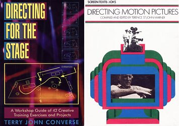 Directing for the Stage and Directing Motion Pictures are essential books for storyboard artists. Concepts such as staging and crossing the line are clearly explained in them.