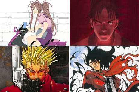 Dark Horse got into the manga game in 1988 and has secured some of the top titles like Blade of the Immortal, Hellsing, Oh My Goddess and Trigun. © Dark Horse Comics Inc.