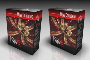 Maya 6 Complete and Unlimited offer goodies such as a new intuitive Bin organizer, mirroring function and a revamped Trax Editor. All images © Alias Systems Corp.