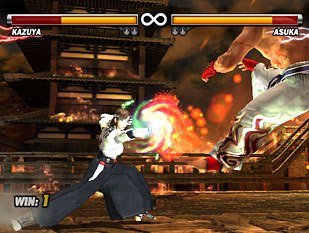 Game veteran Tekken 5 delivers on a new graphics engine for this latest entry. All images © 2004 Namco Ltd., All rights reserved.