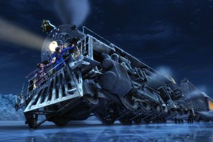 Exactly when does vfx become animation? Rotoscopy? Mocap? Virtual reality? Has it already happened with Polar Express? © 2004 by Warner Bros. Ent. Inc.