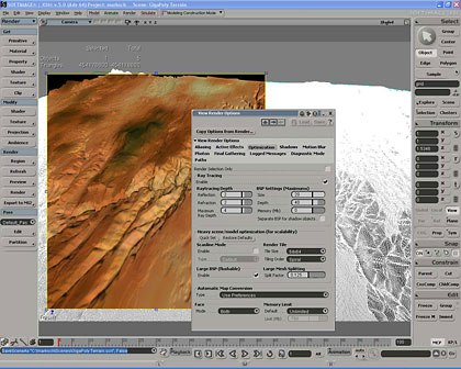 64-bit version of XSI is the biggest advancement from 4.0 to 5.0. All images © Softimage unless otherwise noted.