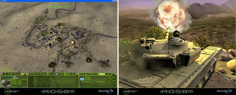Screenshots from netSTRIKE, a CGI-based intelligence fusion simulation for the Department of Defense. © Breakaway Ltd.
