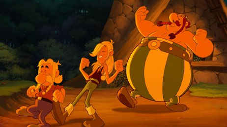 Asterix and the Vikings, a formidable co-production involving three studios played on opening night at Cartoon Movie. © 2006 M6 Studio, Mandarin SAS and 2d3D Animations. All rights reserved.