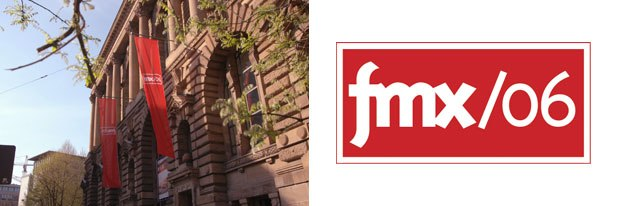 Cross-pollination was in the air at Haus der Wirtschaft, which housed this years fmx. With cutting edge presentations and multimedia halls, fmx is no SIGGRAPH, but has its own identity. Unless noted otherwise, all images courtesy of fmx.
