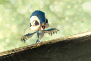 First Flight, DreamWorks new 3D-animated short, is screening in the coveted spot preceding Over the Hedge. All images courtesy of DreamWorks Animation.