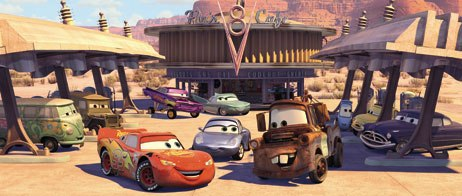 Dont to be fooled by the simplicity of Cars  it pays homage to Miyazaki, Route 66, small towns and a code of honor. Unless otherwise noted, all images © Disney/Pixar. All rights reserved.