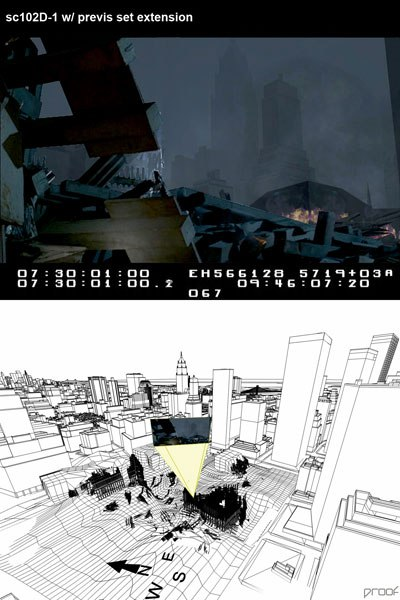 Like Proofs work on World Trade Center, previs is morphing the pre-production stage greatly. © Paramount Pictures Corp.