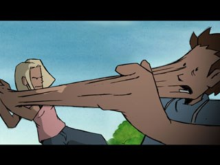 Handshake is a perfect example of Smiths fluid style of animating.