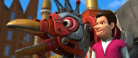 The Emperors Secret makes animation history as the first CGI movie from Finland. Made for 825,000 the film features characters from the popular weekly animation television series The Autocrats. All images © Helsinki-Fi