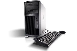 The HP xw9400 Personal Workstation.