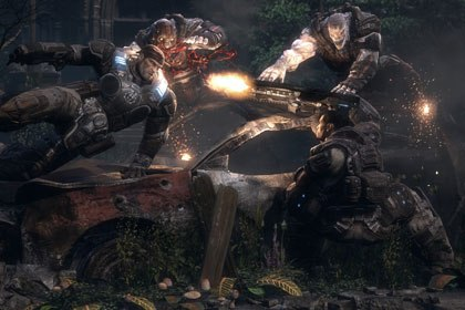 Epics forthcoming Gears of War for the 360 is widely anticipated to be the first title to really push the potential of the next-generation. © Microsoft.