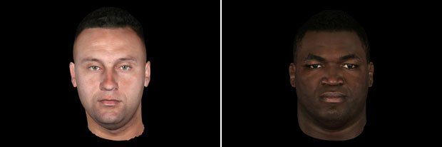 Eyetronics' work on next-gen videogames will set a new standard for character realism and accuracy, as seen above with MLB superstars Derek Jeter (left) and David Ortiz (right). All images © MLBPA. Courtesy of Eyetronics.
