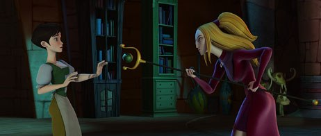 Once Lionsgate became involved with Happily N'ever After, Vanguard had the funds to complete some additions and revisions. King of the Hill director Yvette Kaplan was also brought on board.