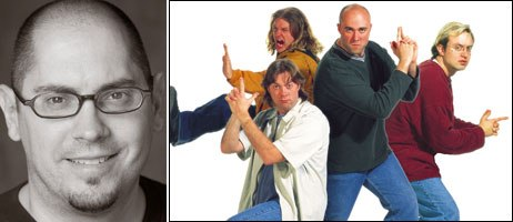 Preston Stutzman notes that Blue Yonder became independent by default, not by choice. The company produced the live-action short, Chillicothe, after trying to make it a feature film. Credit: Dale Berman (left) & Bill Welch Photography (right)