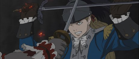 The animation of Le Chevalier D'Eon is wonderfully done and breathtakingly detailed. Character designs are top notch and full of individuality, personality and life.