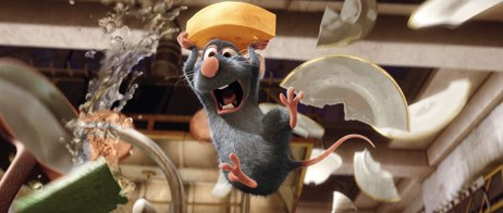 Ratatouille seems more spontaneous than previous Pixar films, due to the nature of the project as well as the circumstances. Two years ago, Bird took over the reins from another director and rewrote and redesigned the film.
