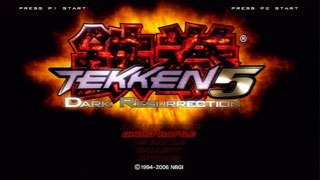 Tekken 5: Dark Resurrection is probably one of the most balanced fighting games ever. It is a 3D fighter featuring close to 40 playable characters. Courtesy of Namco Bandai Games.