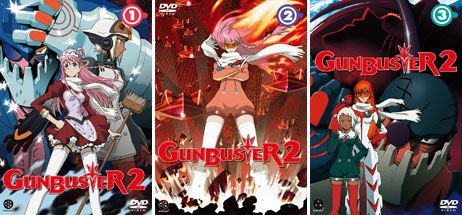 Originally called Diebuster in Japan, Gunbuster 2 takes place after the original Gunbuster ended. All Gunbuster 2 images courtesy of Bandai Visual USA.