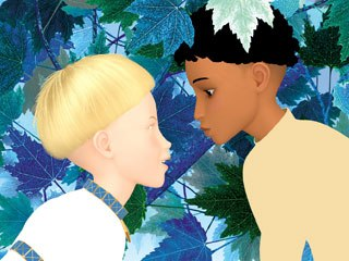 Azur and Asmar, by Michel Ocelot, shares a vision of tolerance and cooperation among different cultures through the adventurous rivalry of two boys raised as brothers. © 2006 Nord-Ouest Production.