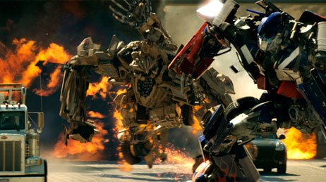 Transformers issued a smackdown at the summer box office while blowin' stuff up real good. © Paramount Pictures.