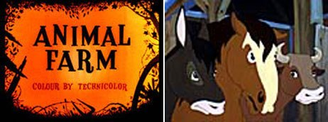 Creating Animal Farm, a dark cynical satire, was probably the studio's boldest business decision. © The Halas & Batchelor Collection Limited. Courtesy of the Animation Research Centre Archive.