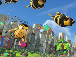 The park and its adjoining West Side neighborhood is Jerry Seinfeld's home turf and the setting for Bee Movie. All images  & © 2007 DreamWorks Animation LLC. All Rights Reserved.