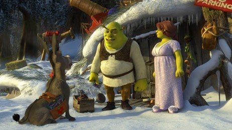 Shrek Christmas.Shrek The Halls The Green Ogre Dons A Red Santa Suit