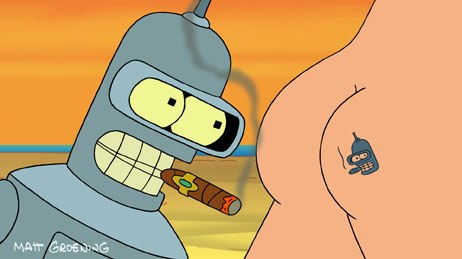 Ultimately Fox's decision to order four Futurama DTV movies was based on the Family Guy business model. A production partner was still needed and Comedy Central's loyalty to the show made the channel a natural fit.