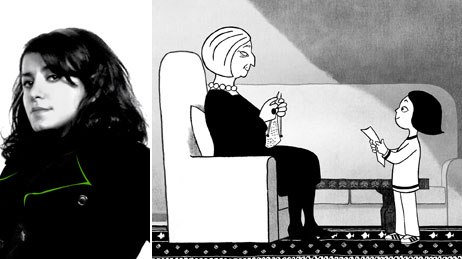 Marjane Satrapis experience of growing up in Iran pervades Persepolis, as in this scene where she declares to her grandmother that no old women will suffer again when she becomes a prophet. All images courtesy of Sony Pictures Classics I