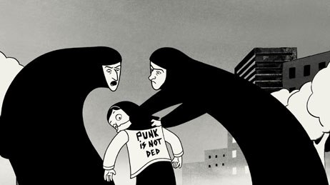Persepolis brings to the screen the true story of Marjane Satrapi, who struggled to have a normal childhood in Iran during the Islamic revolution. All images courtesy of Sony Pictures Classics Inc. © 2007/ 2.4.7. Films. All Rights Reser