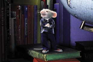 For Jerome Chen, visual effects have always involved some form of animation. He goes back to his work on the live-action Stuart Little, where the main character, a talking mouse, was created with animation and visual effects. © Columbia.
