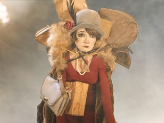 Meticulous craftsmanship informs every minute detail of Madame Tutli-Putli -- from the hand-built sets and costumes to the original oil paintings. © 2007 National Film Board of Canada.