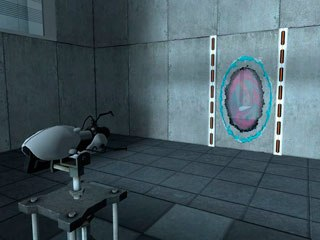 Portal isn't even a first-person shooter really; it's more like a first-person puzzle game.