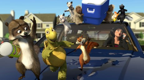 Snow regards Over the Hedge as one of the movies to which he has made his greatest personal contribution. Courtesy DreamWorks Animation SKG.