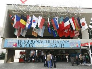 The clans gather at the annual Bologna Children's Book Fair. Courtesy of Bologna Children's Book Fair.
