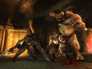 Sony has released a shining gem for the PSP in the form of God of War: Chains of Olympus.