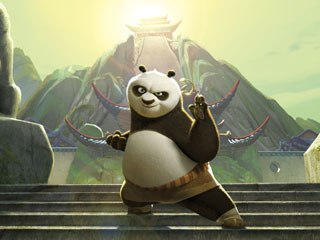 Kung Fu Panda's vfx supervisor and production designer worked closely to bring an exceptional richness of detail to the screen. All images © DreamWorks Animation LLC.