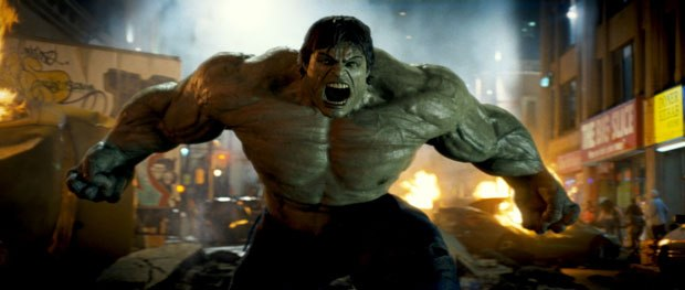 Dynamic simulation was key to enhancing the appearance of the Hulk. The reaction of Hulk's clothing has always been an issue with this character.