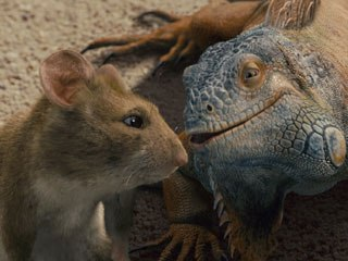 Known for its animation of CG critters, Tippett Studio helped create the hyper Manuel the Rat and laid back Iguana Chico for Beverly Hills Chihuahua. Unless noted, photos courtesy of Tippett Studio. All images © Disney Enterprises.