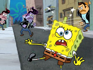 This week SpongeBob is busting out all over, with a new TV adventure and its DVD release, which also includes some season five episodes and four original shorts. All images © Nickelodeon.